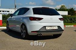 FMS Gruppe A Anlage Stahl Seat Leon Front + FR, SC (5F, ab 11.12) 1.4TSI 110kW