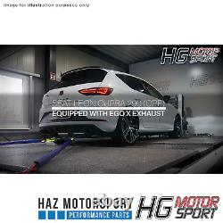HG Motorsport EGO-X 3 Exhaust System for Seat Leon Cupra 290 5F OPF Models Only
