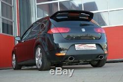 Nil 2.99in Double System Exhaust for Seat Leon 1P Fr / Cupra / R Year 2005-2012