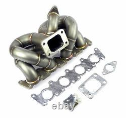 Stainless 0 1/8in Shock Charging Manifold Turbo Elbow T3 for Audi VW 1,8T 20V